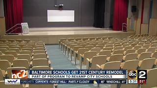 Newly renovated Baltimore public schools opened Thursday - Video