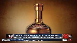 Samuel Adams Scary Brew Illegal in Some States