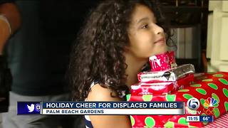 Palm Beach Gardens provides Christmas gifts to displaced Puerto Rican families - Video