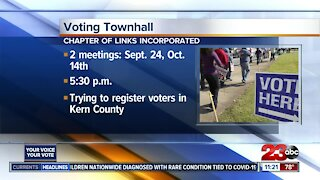 Voter Townhall coming to Kern County