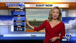 Warmer weather for the Front Range ahead