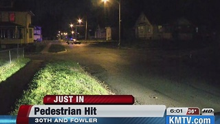 Omaha Police investigate hit and run - Video