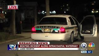 4 pulled from Intracoastal Waterway in Lake Worth - Video