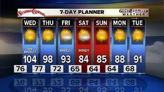 13 First Alert Weather for May 8 - Video