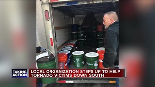 Metro Detroiters helping those affected by southern torrnadoes