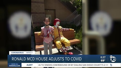 Ronald McDonald House responds to Coronavirus challenges
