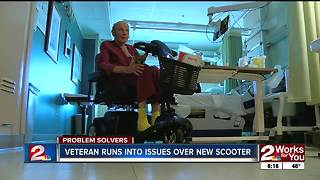 PROBLEM SOLVERS: Veteran cannot get mobility scooter - Video