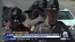 Security teams prepare for speech from white nationalist Richard Spencer - Video