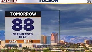 Chief Meteorologist Erin Christiansen's KGUN 9 Forecast Monday, November 14, 2016 - Video