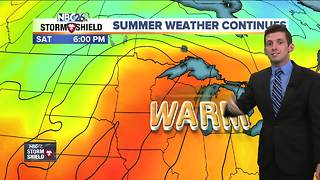 Summer-like weather continues - Video