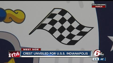 Crest unveiled for USS Indianapolis
