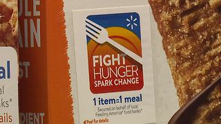 Walmart and Idaho Foodbank work to fight hunger - Video