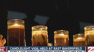 Family holds vigil after tragic loss