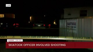 Authorities investigate officer-involved shooting in Skiatook