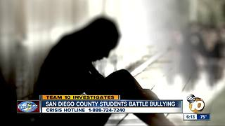 San Diego County Students Battle Bullying - Video