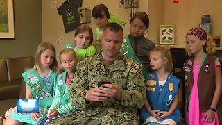 Girl Scouts send sweet surprise to sailors serving overseas - Video