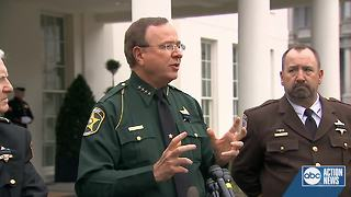 Sheriff Grady Judd sounds off on marijuana after roundtable with President Trump - Video