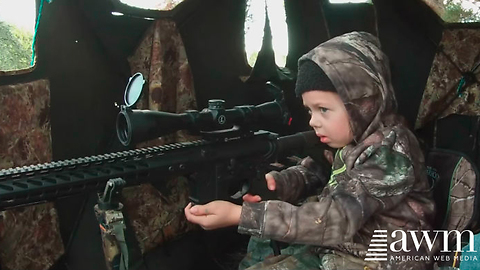 Little Girl's Reaction To Shooting Her First Deer Goes Viral, Has Animal Activists Furious