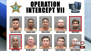 Sarasota County Sheriff's Office arrested 23 people during Operation Intercept VII