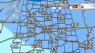 Forecast: Cold next two days, snow Saturday - Video