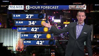 13 First Alert Las Vegas weather updated January 2 morning