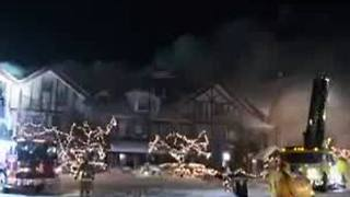 Fire reported at Boyne Highlands Resort in Harbor Springs - Video