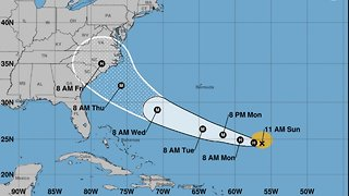 Tropical Storm Florence Is Now A Hurricane