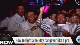 How to fight a holiday hangover - Video