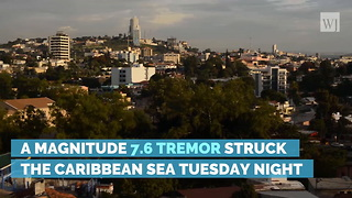 Massive 7.6 Magnitude Earthquake Strikes Caribbean - Video