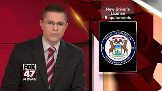Michigan issuing driver's license to comply with federal law - Video