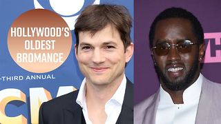 Diddy and Ashton Kutcher's bromance explained - Video