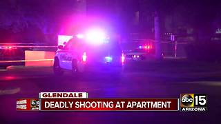 Man shot, killed at Glendale apartment complex - Video