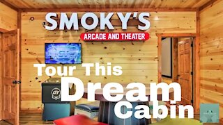 AMAZING VACATION CABIN   Indoor Private Pool   Arcade   Theater   6 Bedrooms   6 1/2 Baths