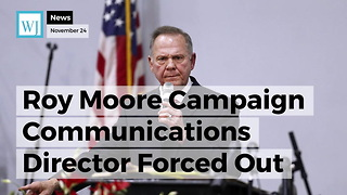 Resignation Rocks Roy Moore Campaign Amid Sexual Misconduct Allegations - Video