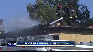 Two-alarm fire damages Boise apartment complex - Video
