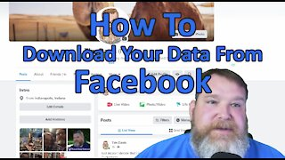 How To Download Your Data From Facebook