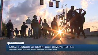 Detroit Will Breathe holds 100th protest downtown
