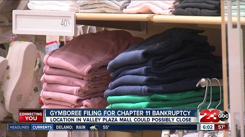 Gymboree expected to file for Chapter 11 bankruptcy