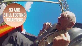 The rollercoaster tester who steals hearts
