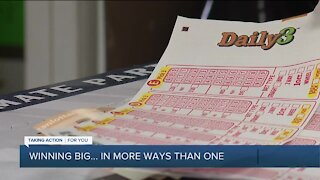 Metro Detroit woman hits the jackpot with help from some good Samaritans