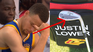Steph Curry TROLLED by Justin Lower Over Blown 3-1 Lead During Golf Tournament - Video