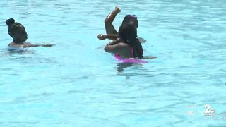 Baltimore opens more pools as they work to keep people safe
