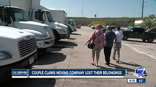 Denver Air Force veteran couple confronts moving company a second time about missing pods - Video