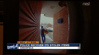 Greenfield Police arrest 'Grinch' thief who stole nearly 200 packages - Video