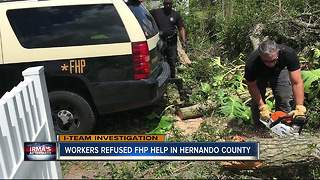 Workers refused FHP help in Hernando County - Video