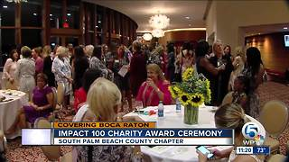 Impact 100 charity award ceremony - Video