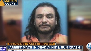 Arrest made in deadly hit-and-run - Video