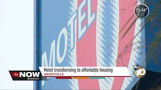 Motel 6 transforming to affordable housing for veterans - Video