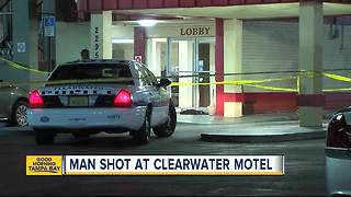 Man seriously injured in shooting at Clearwater motel