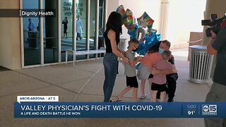 Valley physician overcomes fight with COVID-19